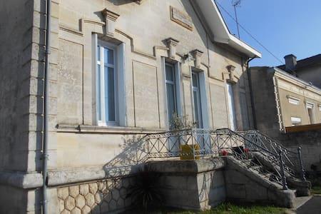 grande maison avec jardin - Libourne - Haus