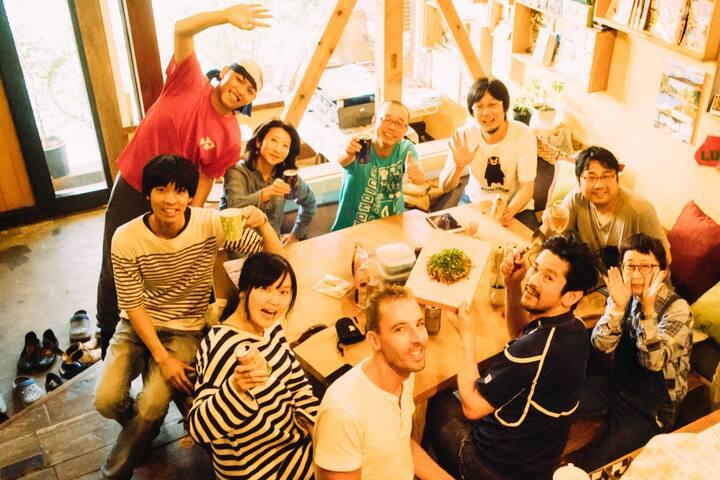 Takayama tau noie Mix dormitory   Up to 2 people