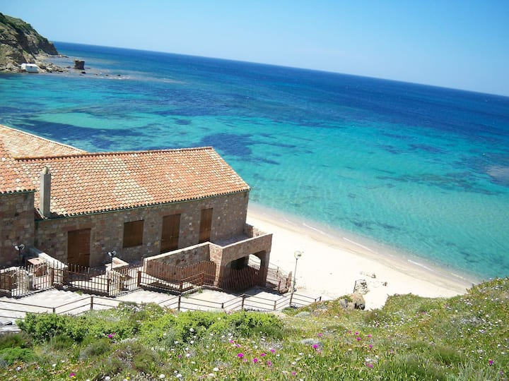 Casa Serenella Antica Tonnara sulla spiaggia