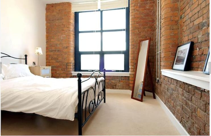 Ensuite double bed Northern Quarter City Centre - Manchester - Apartemen