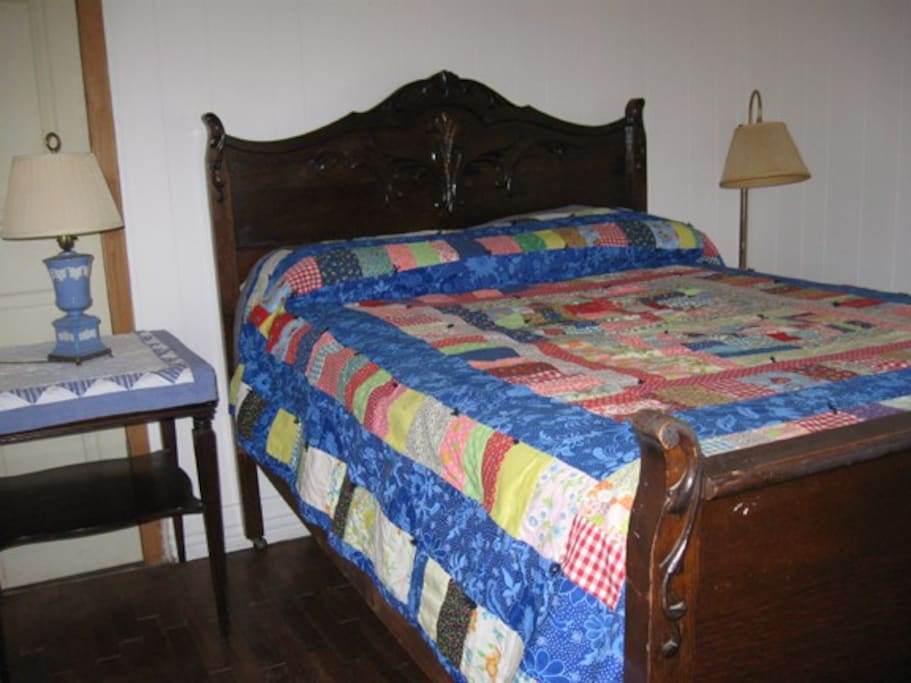 Bedroom with full-size bed