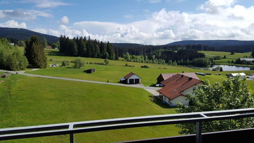 Super uitzicht, vlak bij 3-landenpunt - Haidmühle - Condominium