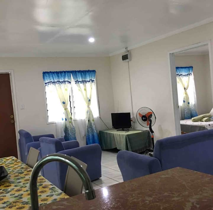 Mapusaga Riverside Apartment Apt 5 max : 5-6 Guest