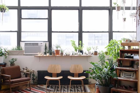 Bushwick Artist Loft - Zen Tree House Room - Brooklyn - Loft
