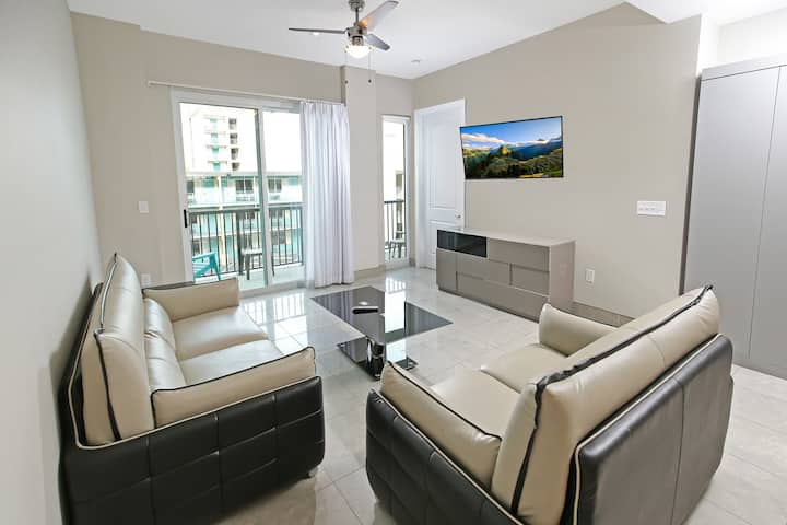 Modern 2BR Ocean View, Bali Bay 402 South MB