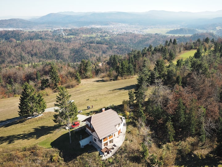 Holliday Home Razglednik with amazing views