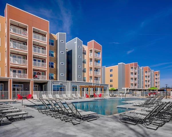 Cozy Campus Loft - Fayetteville - Apartamento