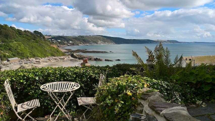 Enjoy stunning sea views from Port Looe Cottage