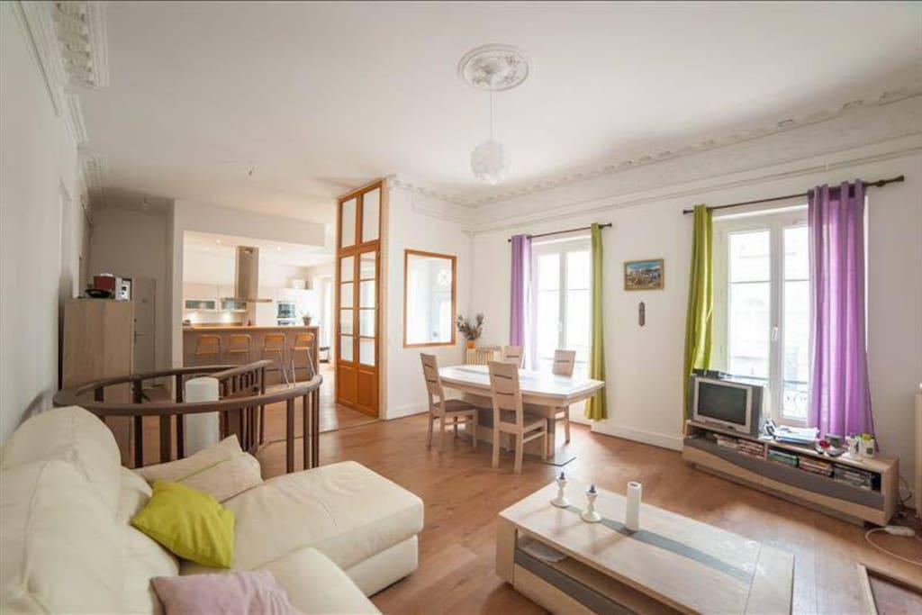 Appartement 4 chambres centre ville de bordeaux - Chambre a louer bordeaux ...