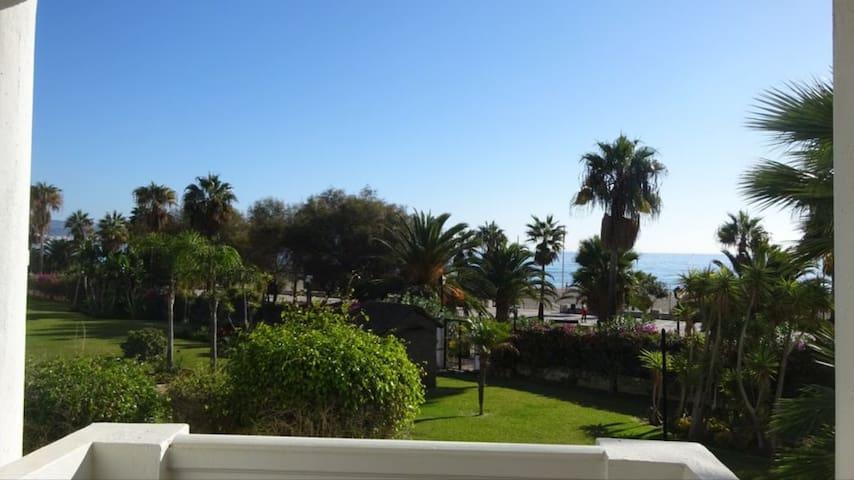 Puerto Banus front Beach  Apartment BJ37, sea view