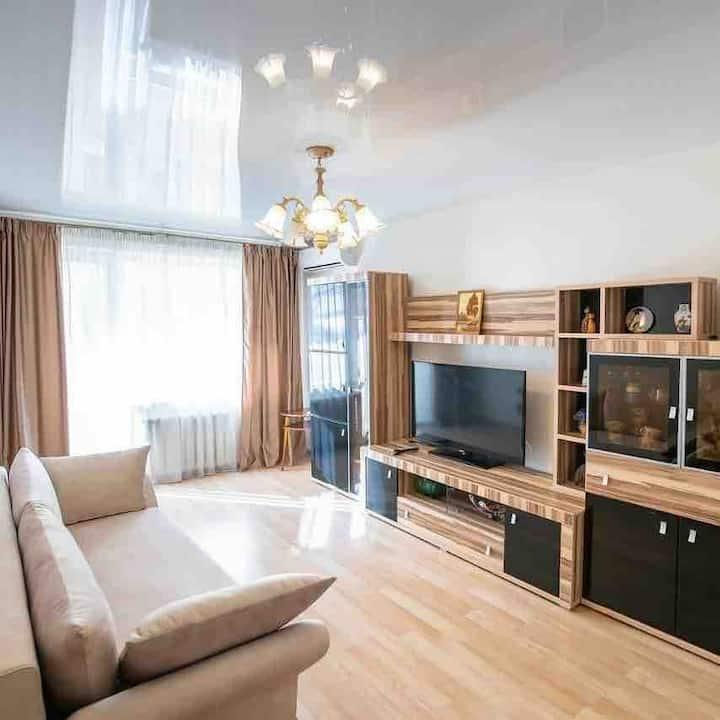 Комфортная квартира с ремонтом