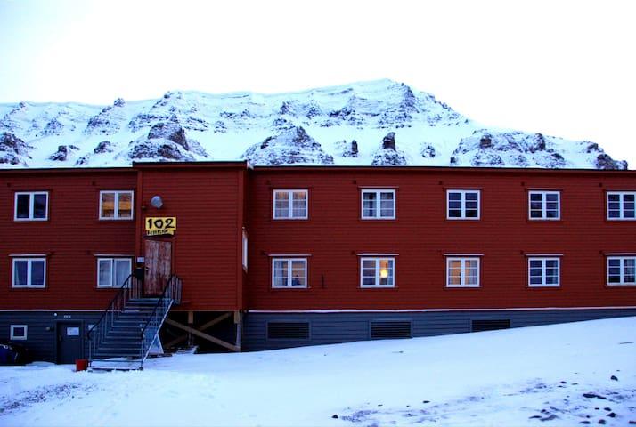 Gjestehuset 102 (single room) - Longyearbyen - Bed & Breakfast