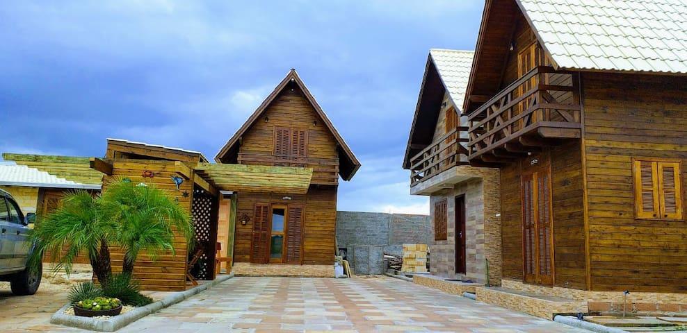 Ambiente familiar e acolhedor Cabanas LRM 1