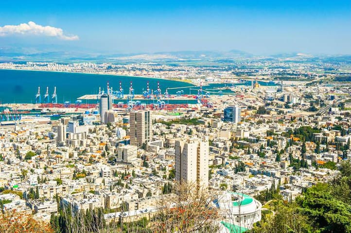 Haifa's area tour guide