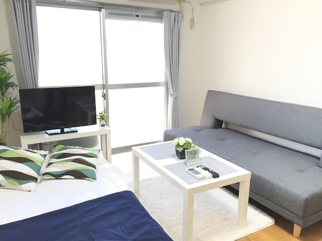 Direct to the airport 1min to Sta+Free WIFI 4PAX - Sawara-ku, Fukuoka-shi - Apartemen