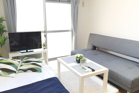 Direct to the airport 1min to Sta+Free WIFI 4PAX - Sawara-ku, Fukuoka-shi - Departamento