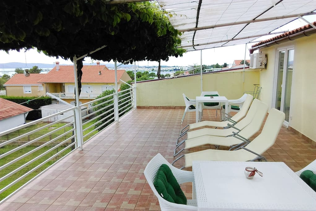 """""""...great view from the terrace and great space for a big family.."""" (Nicoline)"""