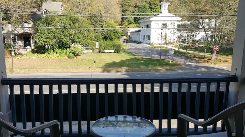 Front Porch Over looking Main St