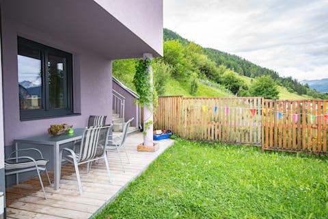 Mini-appartement in de Tiroolse bergen