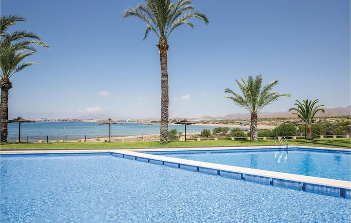 Holiday apartment with 2 bedrooms on 65m² in Isla Plana