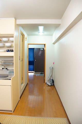 Honmachi St. 1min, Tatami : Japanese style room - Chūō-ku, Ōsaka-shi - Appartement