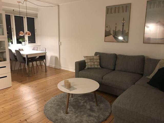 Flot lejlighed i Kbh sv. (lovely apartment in Cph)