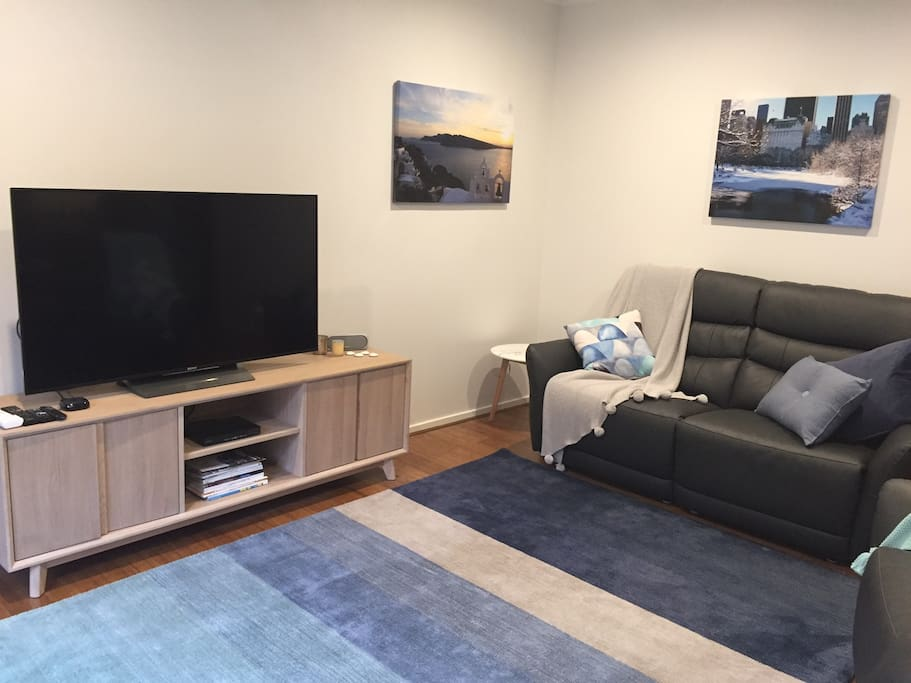 Lounge room with smart TV