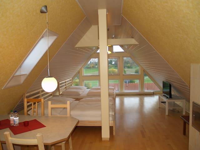 Apartment 7min->Messe 13min->Flughafen Stuttgart - Leinfelden-Echterdingen - Lägenhet