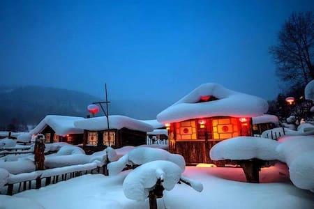 亚布力滑雪场【先生的院子】特色火炕
