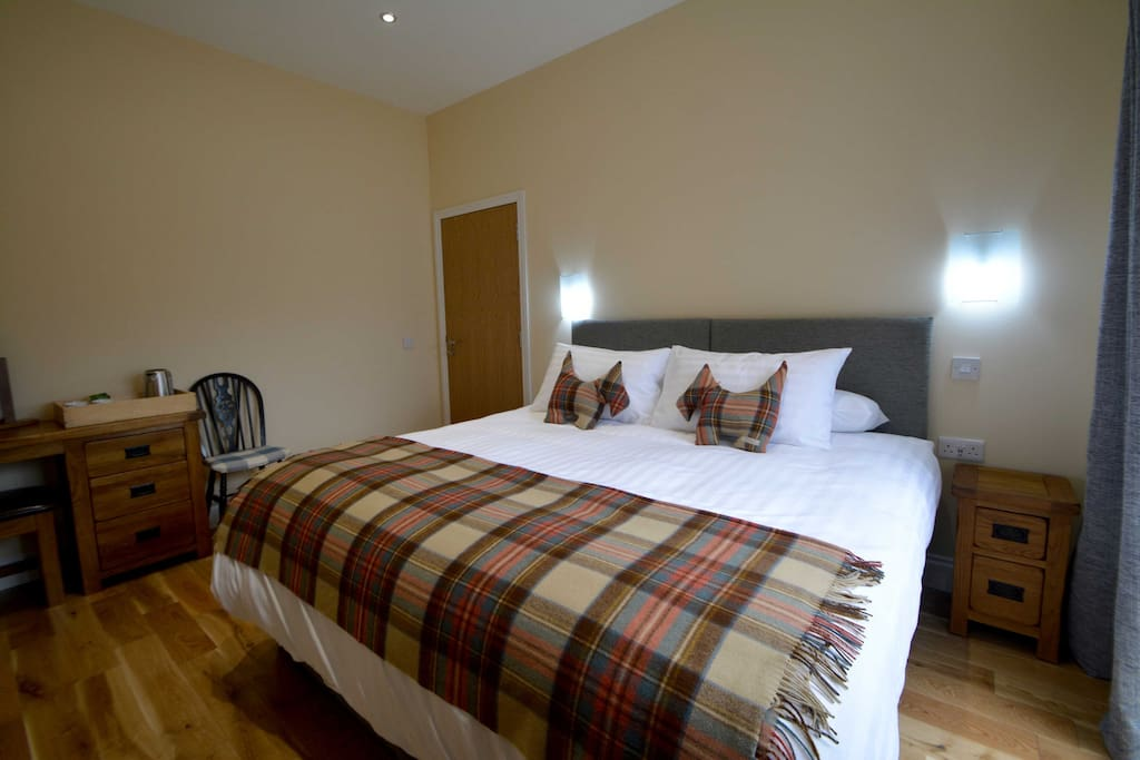 Superking Room - The Selkirk, sleeps two - single occupancy available,  private patio area