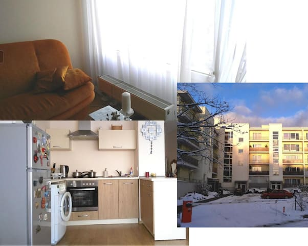 Cozy shared room in quite place - Ryga - Apartament
