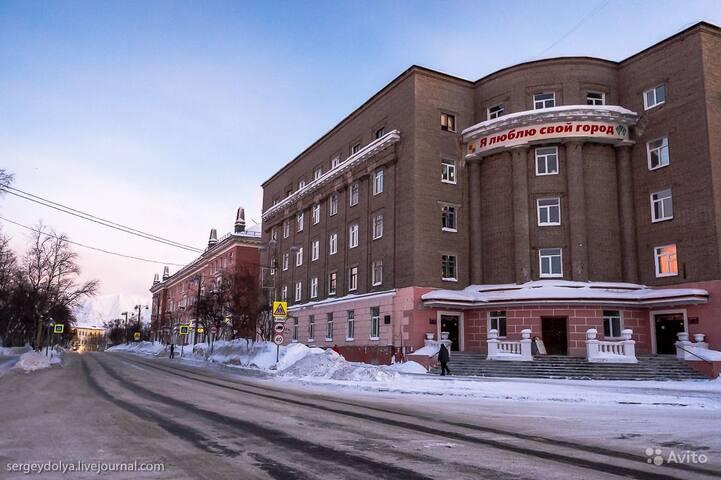 3 ком.кв в центре города - Kirovsk