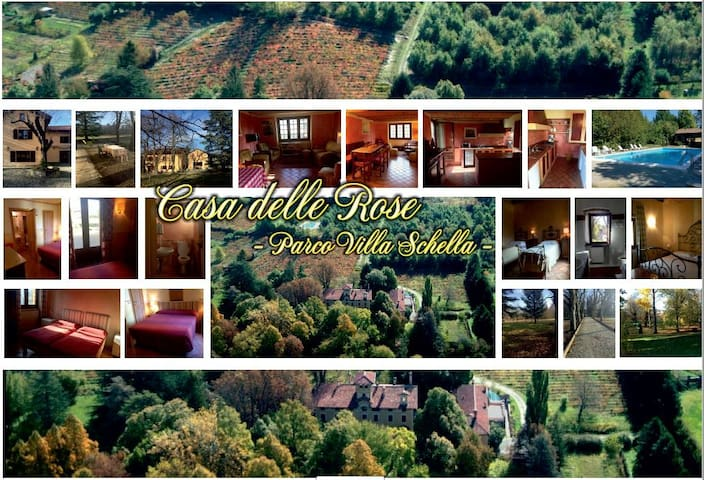 HOUSE OF ROSES - Park Villa Schella - 26 PHOTOS - Ovada - Hus