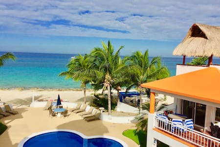 2nd Floor Beach House - San Miguel de Cozumel