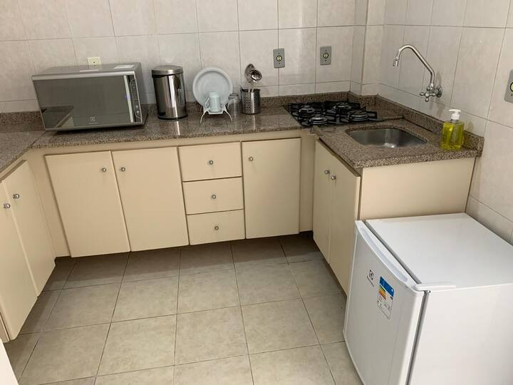Apartamento 11 Visconde Completo e Compacto!