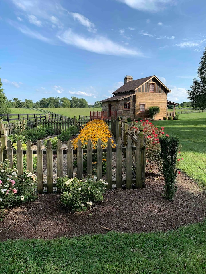 Little piece of heaven in Kentucky horse country.