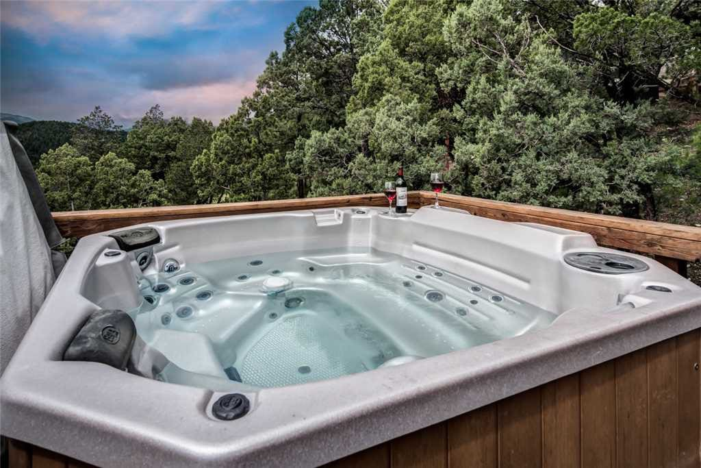 Retreat to the Spa - End your day with a relaxing soak in the Neeley Mountain House spa. The soothing spa waters will put you at ease.
