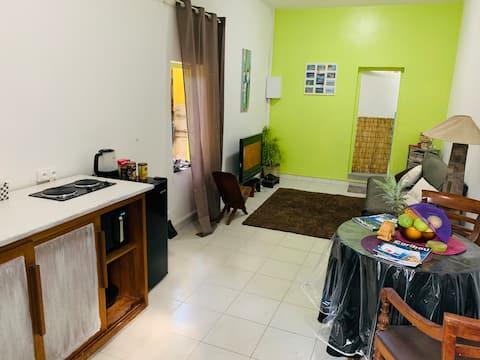 Studio spacieux, équipé et moderne à Labattoir