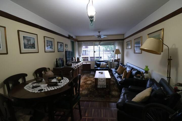 Cómoda y luminosa habitación en Punta Carretas. - Montevideo - Apto. en complejo residencial