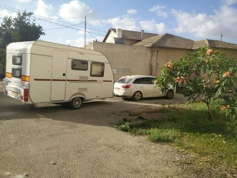 5bed caravan - can be located at  Michmoret beach