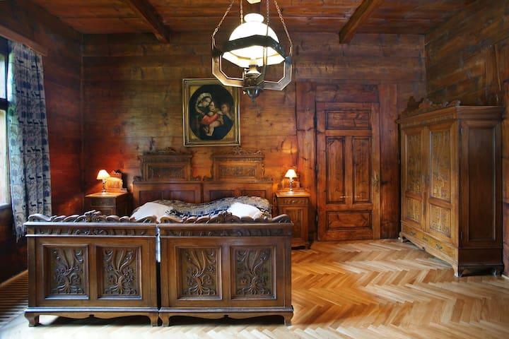 Dom Muzealny Ornak: Pokój Złotogłowy-Asphodel Room