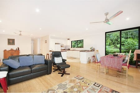 Tranquil, leafy home in Mullum - Mullumbimby - House