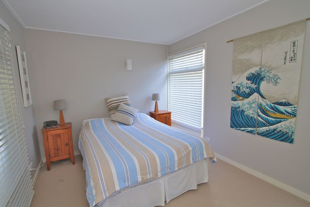 Master Queen bedroom with large built in wardrobes