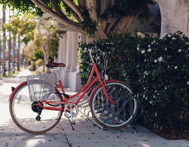 bike rental at the property