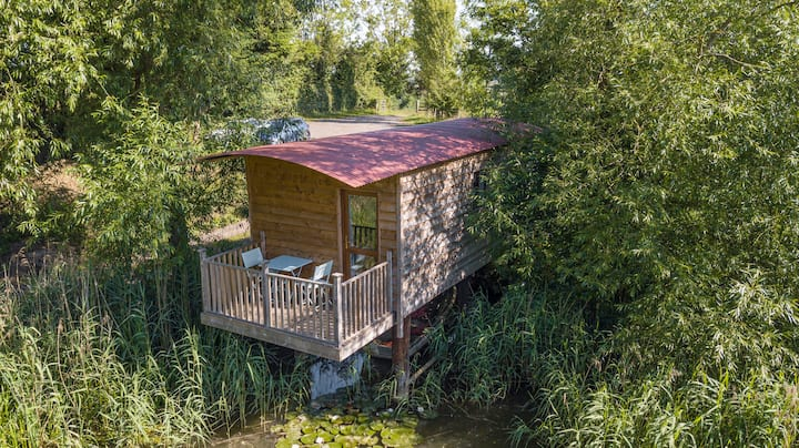 Off-The-Grid Secluded Fishing Lake Cabin