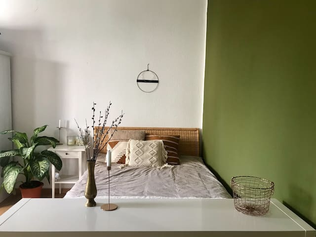 Cozy room with great connection to city center