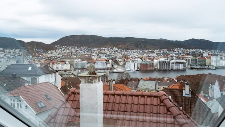 Modern apartment in a historical area, great view!