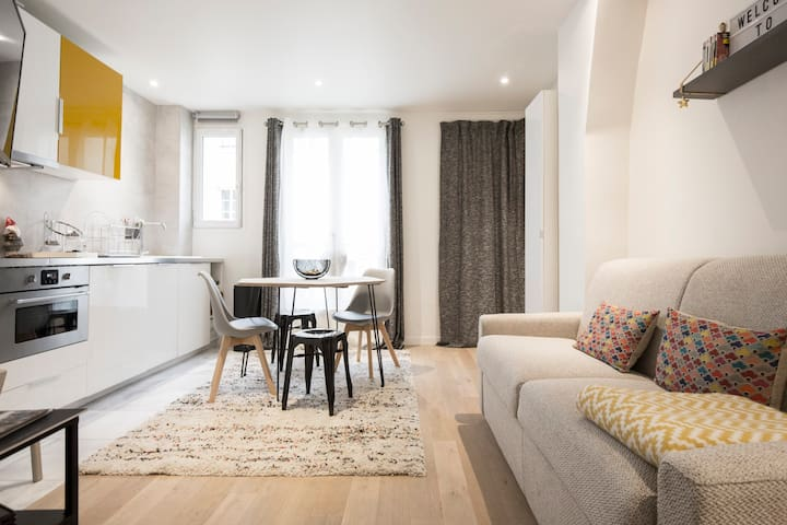 Newly renovated apartment in Paris central - París - Departamento