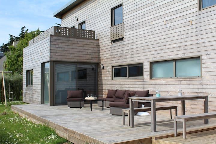 Villa am Meer Komfort privates Hallenbad Jacuzzi