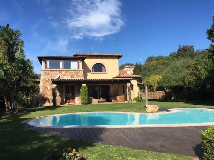 Villa Babsy con piscina privata